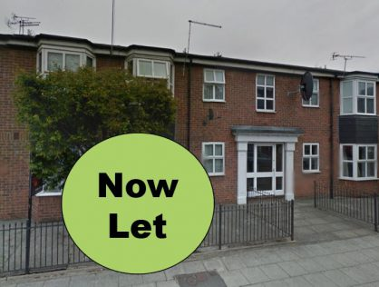 Beech Close, Hull. 1 Bedroom – NOW LET