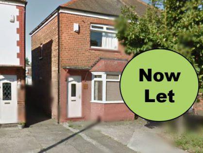 29 Kingston Avenue, Hull. 3 Bedroom – NOW LET